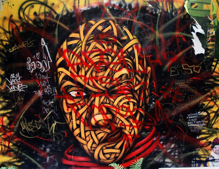 Unbridled Berlin Street Art : Spencer Elzey in Europe
