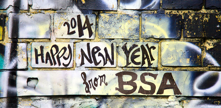 Happy New Year 2014 from BSA