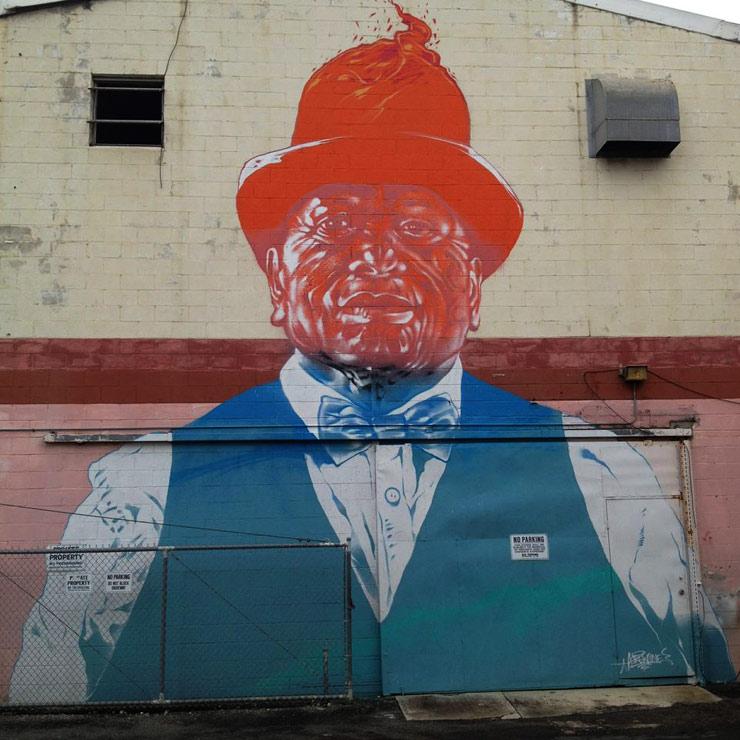 Street Art in Honolulu as Pow! Wow! Hawaii Enters Fifth Year