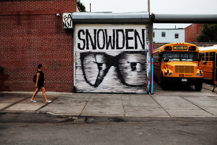"13 from 2013 : Jim Kiernan ""Snowden – Eyes Are Watching"""