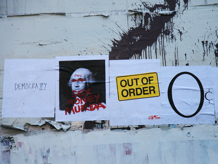 Protest Posters from OWS: The Message and the Medium