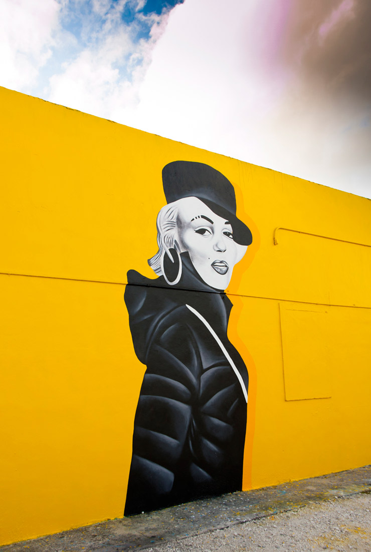 "Marilyn as Missy ""Works It"" in Miami: New Shots from Art Basel 2013"