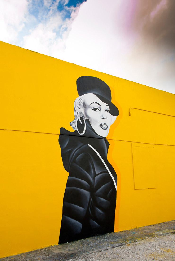 "Marilyn as Missy ""Works It"" in Miami: New Shots from Art Basel 2013"