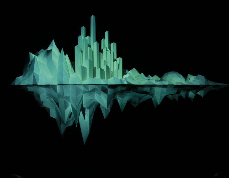 Holiday Window Shows : A Floating City of The Future at Barneys