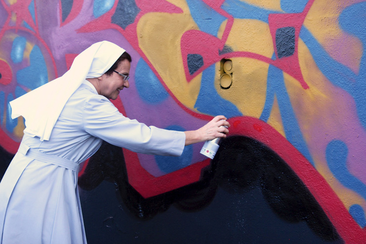 "13 from 2013 : Jessica Stewart ""The Roman Nun and the Spray Can"""