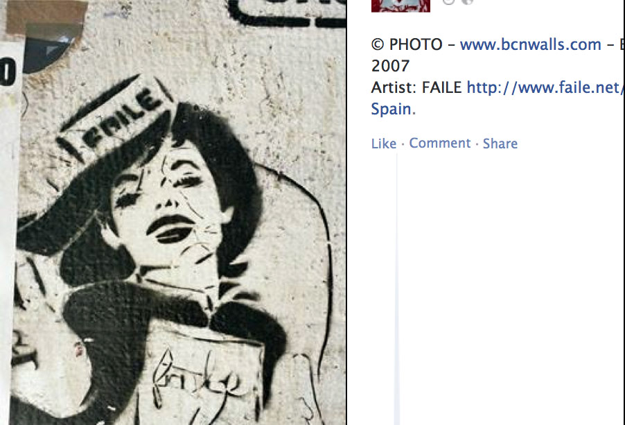 The Golden Age of Street Art in Barcelona – now on FB