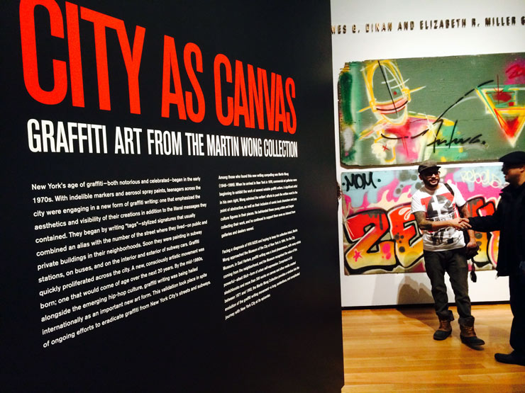 """The City As Canvas"" Opens with the Collection of Martin Wong"