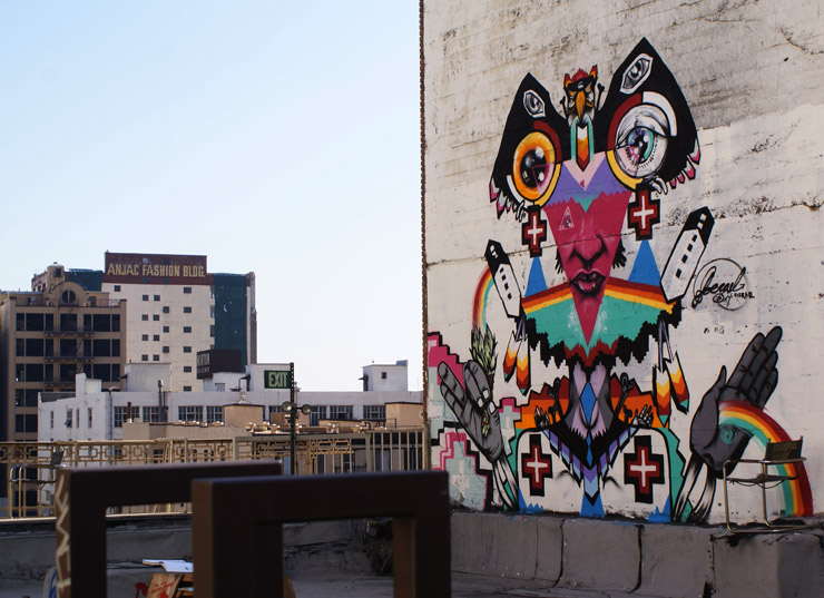 Joereal Takes Painting to the Roof top and Beyond (Video)
