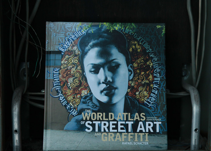 "Rafael Schacter and His ""World Atlas of Street Art and Graffiti"""