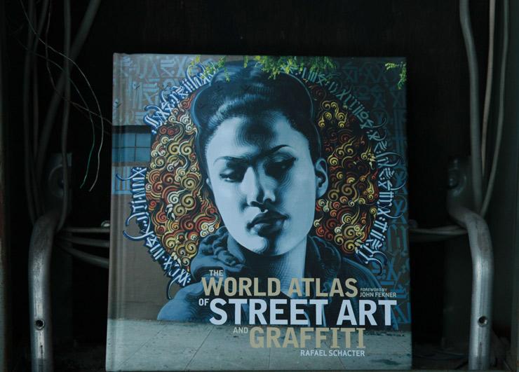 "Rafael Schacter and His ""World Atlas of Street Art and Graffiti"""