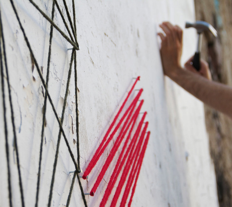 SpiderTag, Nails, and Abstract Geometry in Madrid (VIDEO)