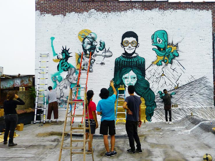 """Outdoor Gallery"" Surveys Current Street Art Scene in NYC"