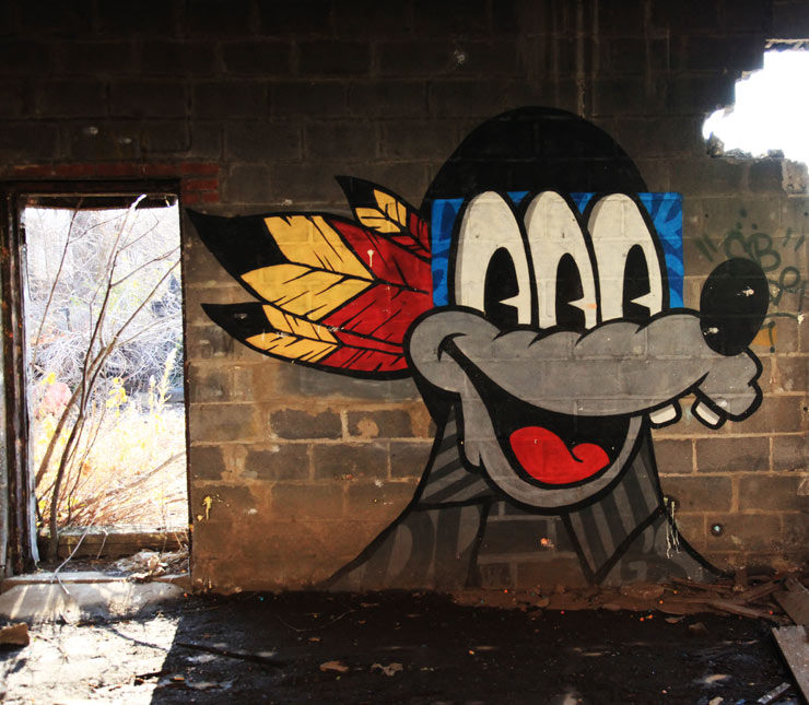Abandoned Graffiti-Covered New Jersey : NSFW