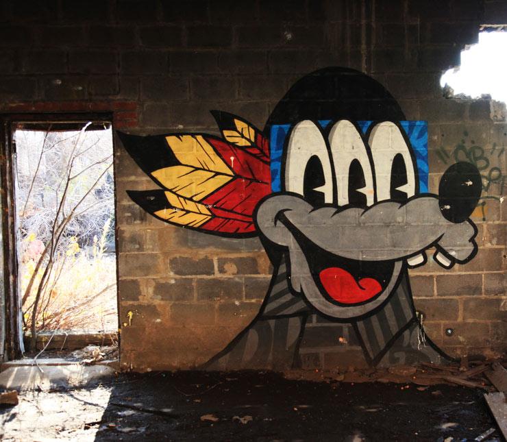Abandoned Graffiti-Covered New Jersey : NSFW