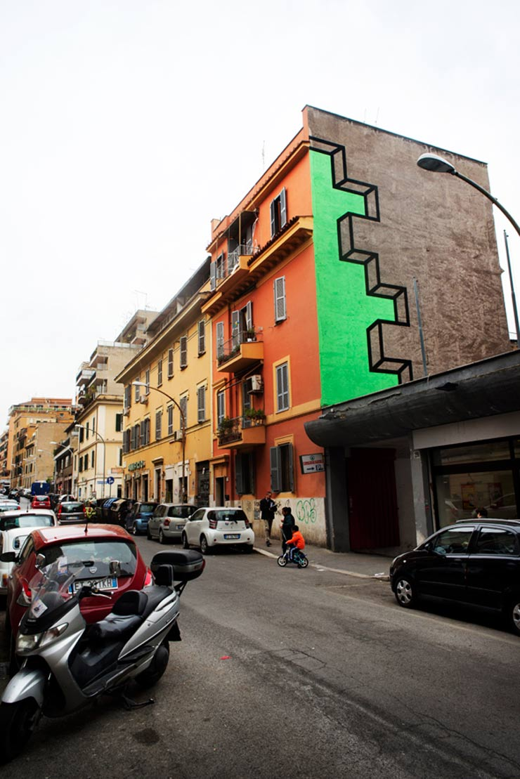 "Aakash Nihalani and ""Vantage"" in Rome"