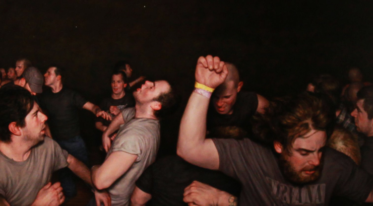 Dan Witz Goes Hardcore in NYC with Mosh Pit Collection