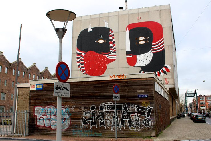 15 Murals and a Submarine: Amsterdam's Urban Art Scene Now