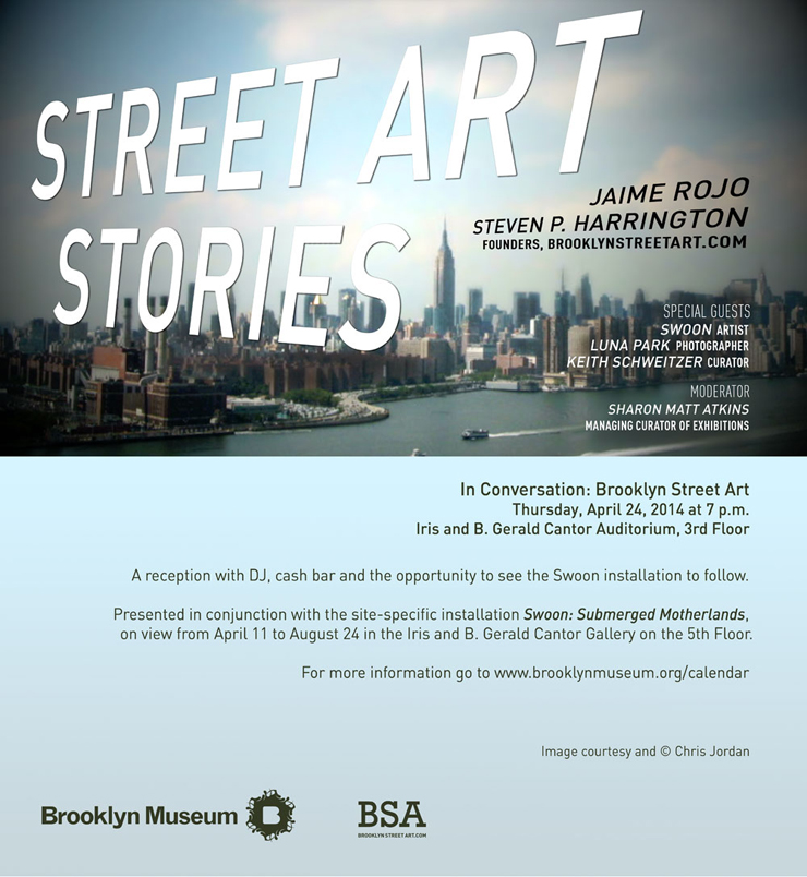 Join BSA @Brooklynmuseum with SWOON April 24th (Open Late!)