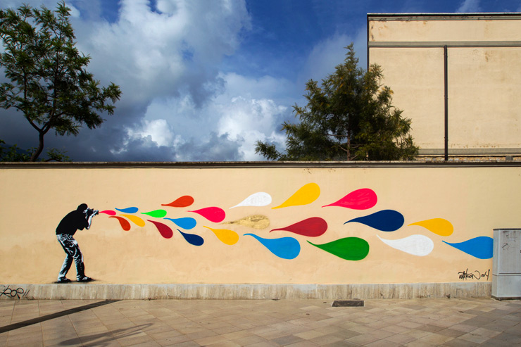 Martin Whatson, David De La Mano, Pablo Herrero and E1000 at Memorie Urbane Festival 2014