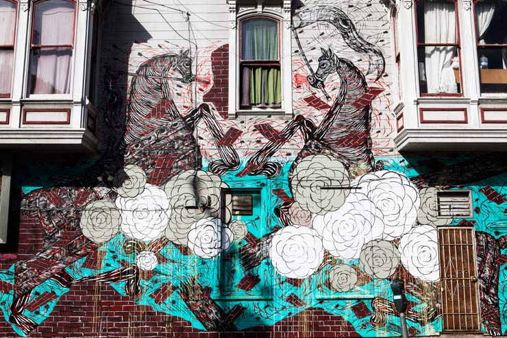 San Francisco Survey : Street Art and Graffiti
