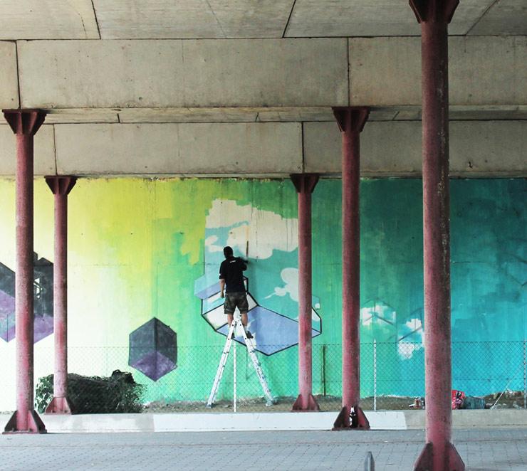 Etnik in Pisa for Indoor/Outdoor, 25 Years After Haring (Italy)