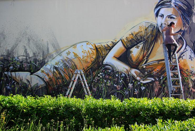 Alice Pasquini e Una Donna, Memorie Urbane 2014