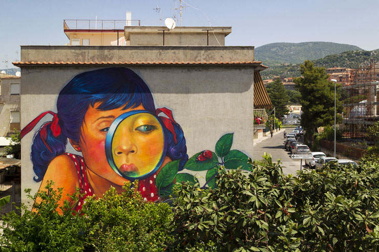 Poles in Italy: Natalia Rak and Etam Cru at Memorie Urbane 2014