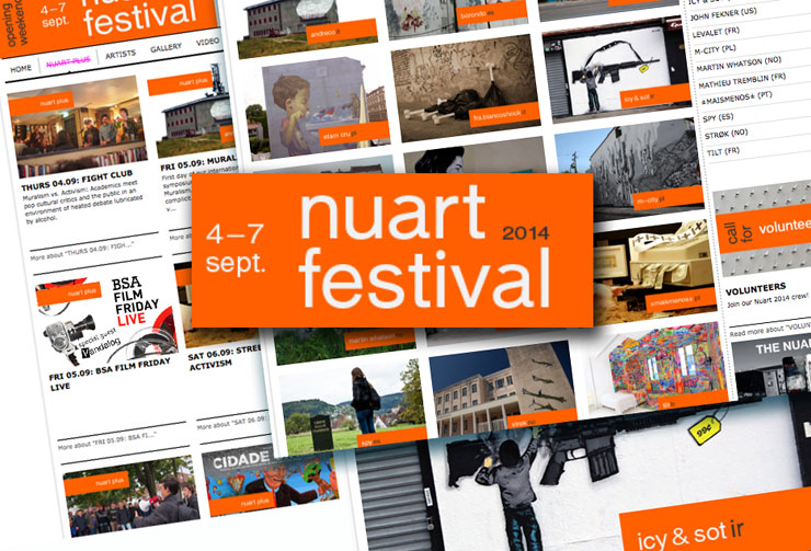 Nuart Festival 2014 Artists and Guests Announced (VIDEO)