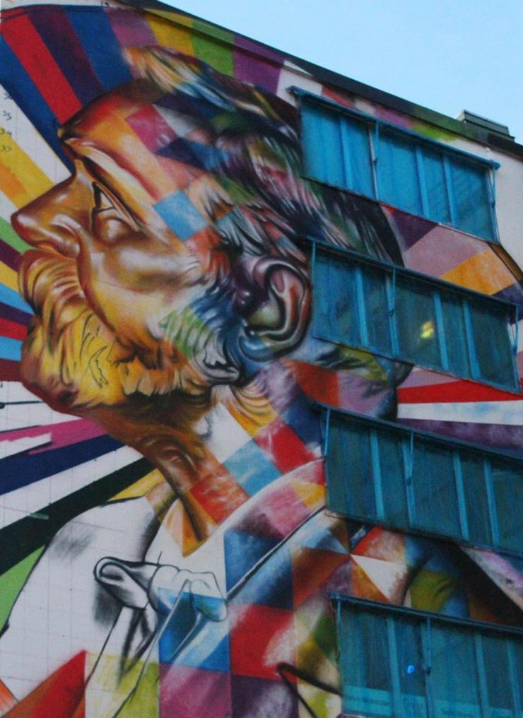 "Sweden Starts ""No Limit"" Mural Festival in Borås"