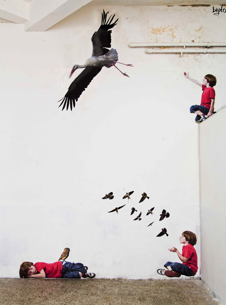 """Bluebird"" : BIFIDO In Italian Jail Teaching Art Methods to Youth"