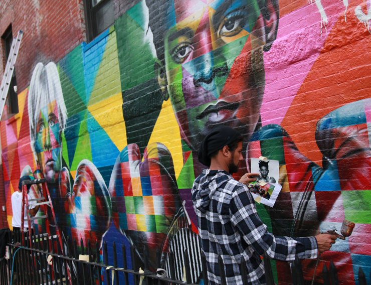 Kobra Gets Pugilistic with Warhol and Basquiat in Brooklyn