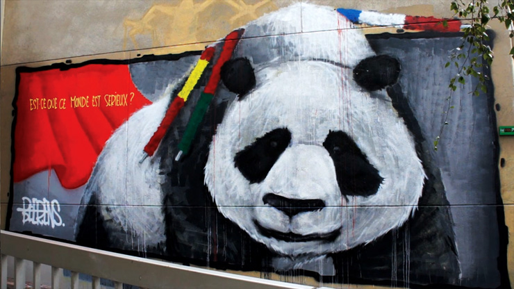 Could We Kill a Panda The Same Way We Kill a Bull? Michael Beerens in Paris