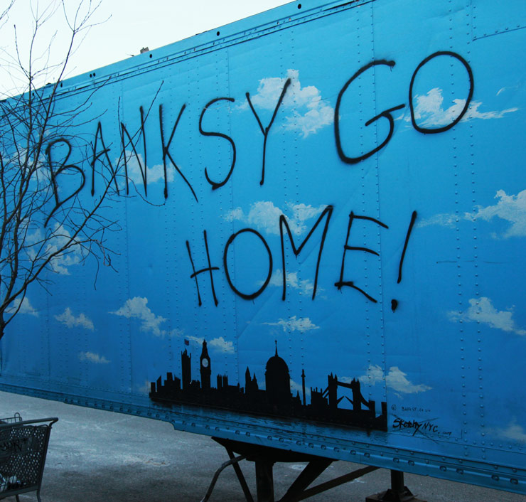 "YO Banksy! A Year Since ""Better Out Than In"""