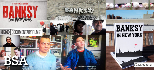 BSA Does Banksy (New Doc and Book Projects)