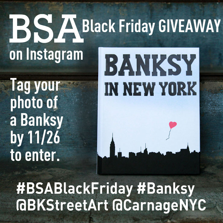 BSA BLACK FRIDAY Giveaway Contest!!