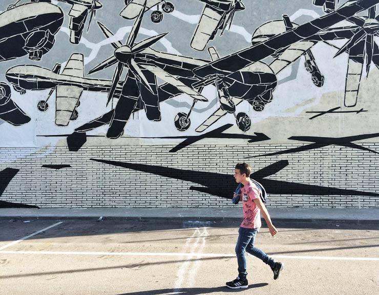 As Street Art Turns to Public Art in Barcelona