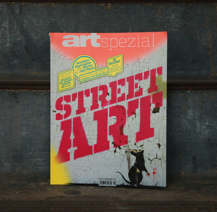ART – Das Kunstmagazin: Street Art New Special Issue