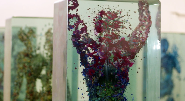 Dustin Yellin Suspends Dance in Glass for New NYC Ballet/Art Series