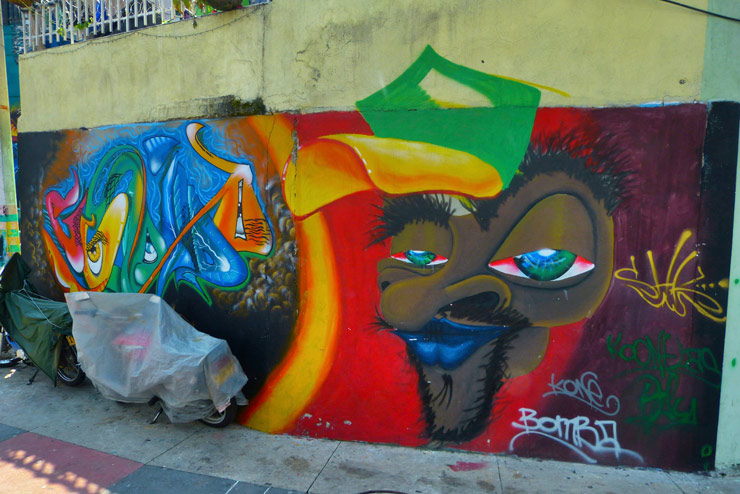 Community Murals and the Violent History of Comuna 13 in Medellin