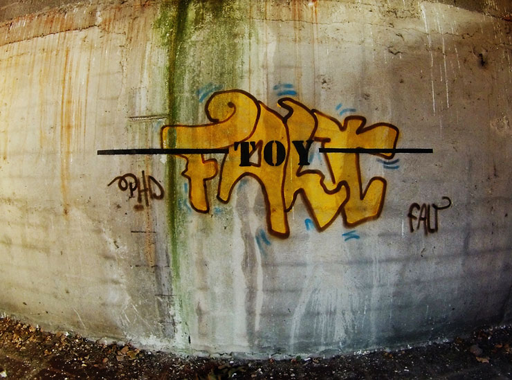 "Fra. Biancoshock Tags ""Toy"" in Milan"