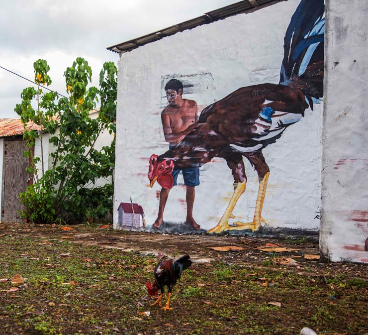 "Street Art Sancocho : ""ArteSano Project"" Brings Dominican Flavor (VIDEO)"