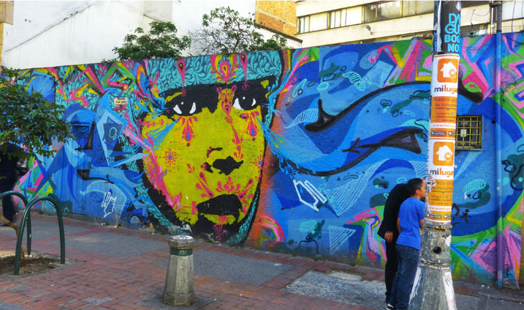 Bogotá : A Liberal Approach To Art Creates Exceptional Street Culture