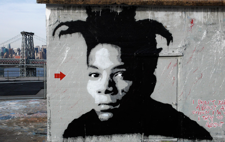 Basquiat Through The Eyes Of Fellow Artists on the Street
