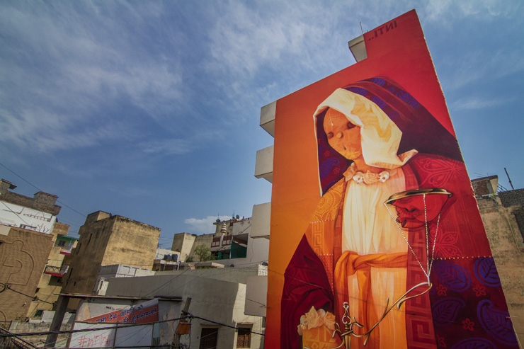 "INTI Strikes a ""Balance"" For St + ART Delhi"