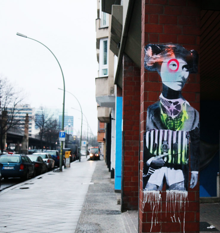 Dain and El Sol 25 on the Street in Berlin