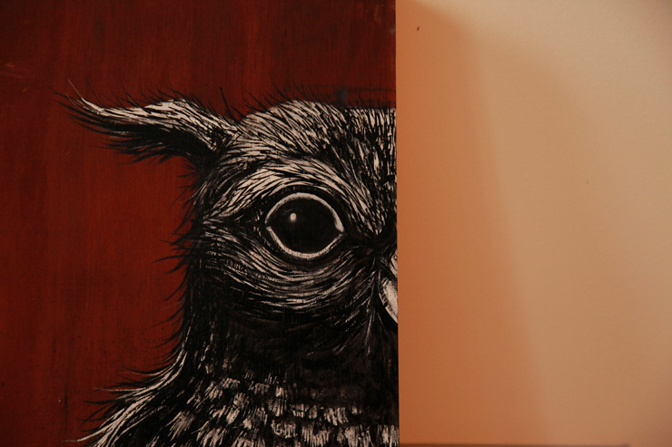 "A Visit With ROA Readying for ""Metazoa"""