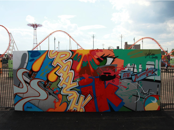 Coney Art Walls: First 3 Completed and Summer Begins