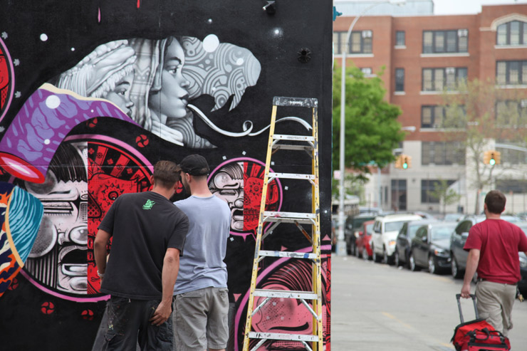 External Combustion: How & Nosm with Tristan Eaton in BK