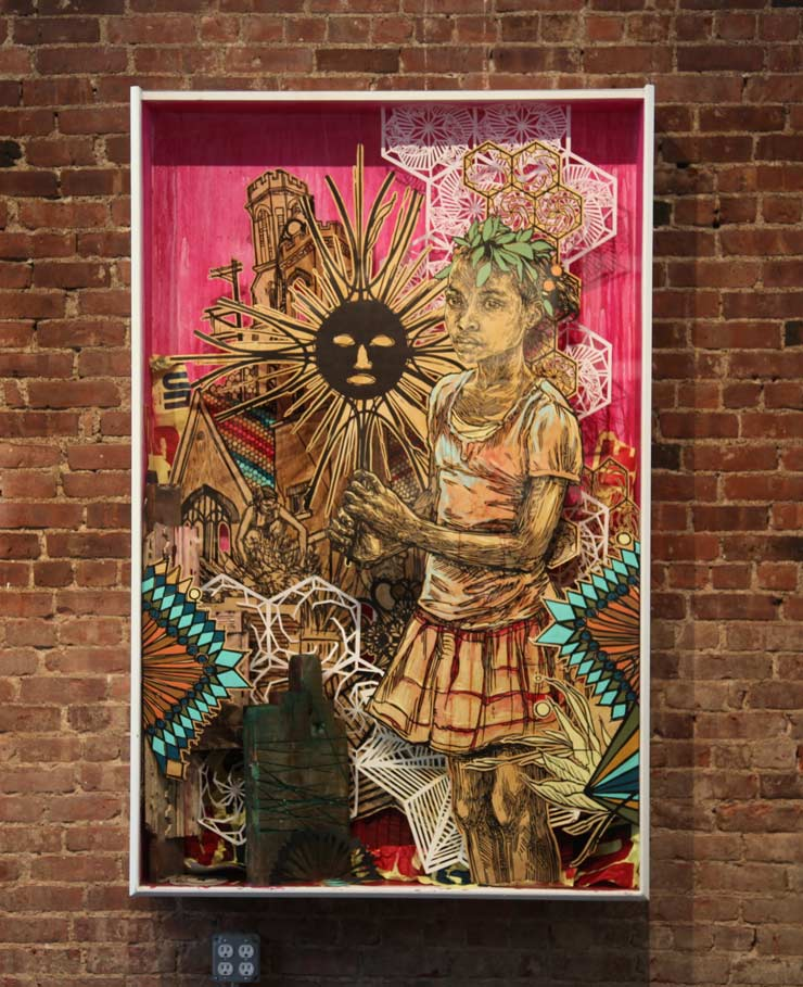 "Swoon ""The Road By Walking"" and Artist Talk with BSA"