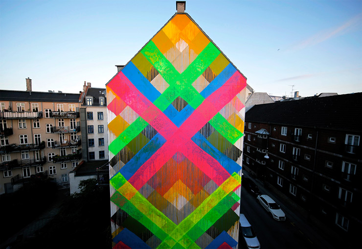 """Surface"" Brings 6 New Murals to Copenhagen"